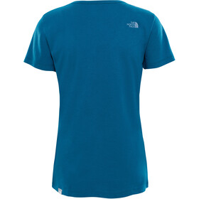 The North Face Simple Dom S/S Tee Dame blue coral